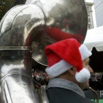 Welcome to PDX Santa baby, Tuba Christmas 2012 is happening