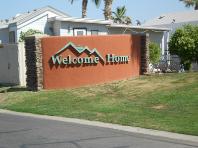 welcome sign Syl 3x4