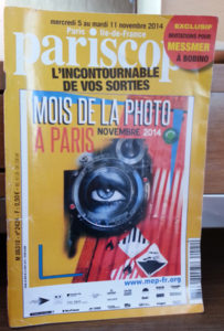 Pariscope cover 3x420141212_111046