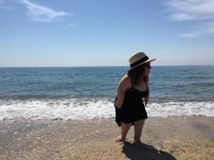 Rachel Chansler on the French Riviera